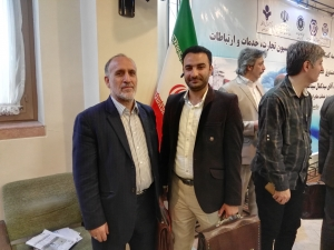 With Mr.Seyyed Ali, Managing Director of Iran Export Guarantee Fund